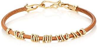 "Dean Harris Men's ""Jump Ring"" Bracelet - Yellow"