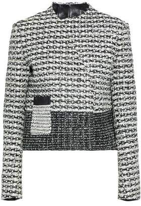 Proenza Schouler Woven Leather Jacket