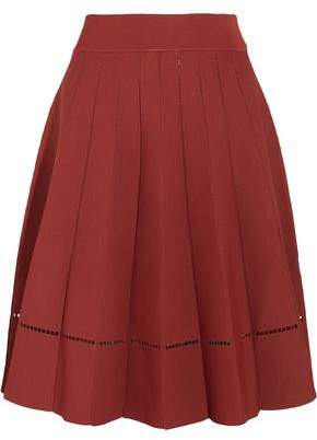 A.L.C. Nicole Cutout Stretch-Knit Skirt