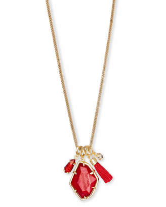 Kendra Scott Hailey Long Pendant Necklace