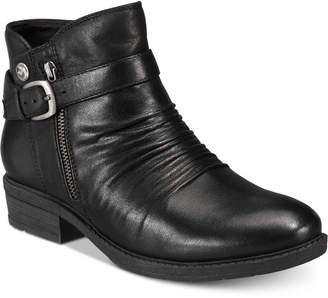 Bare Traps Baretrap Yasmyn Ankle-Zip Booties Women's Shoes