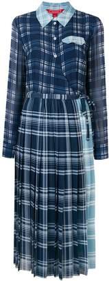 Tommy Hilfiger pleated midi dress