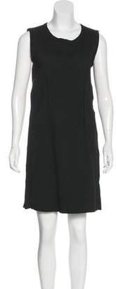 Hache Textured Sleeveless Dress