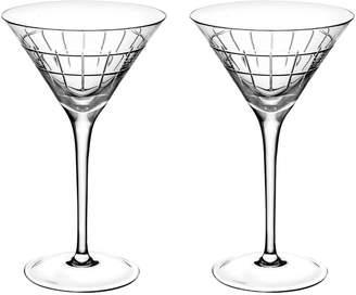 Christofle Crystal Martini Glasses (Set of 2)