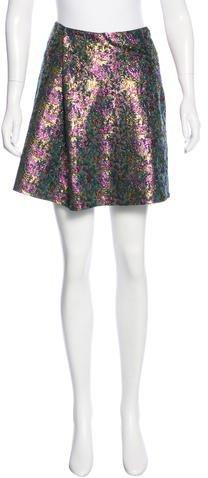 3.1 Phillip Lim3.1 Phillip Lim Jacquard Mini Skirt w/ Tags