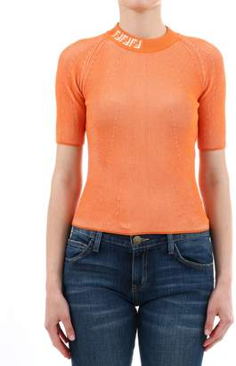 Fendi Orange Pullover