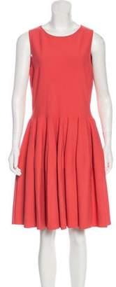 Alexander McQueen A-Line Knee-Length Dress
