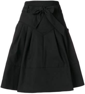 Miu Miu high-waisted flared skirt