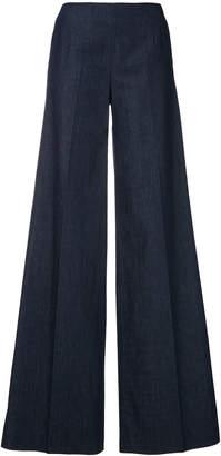 Pt01 high rise wide leg trousers