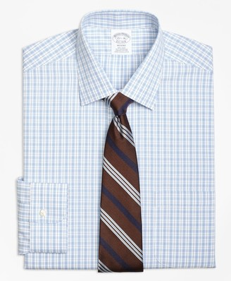 Brooks Brothers Regent Fitted Dress Shirt, Non-Iron Split Check