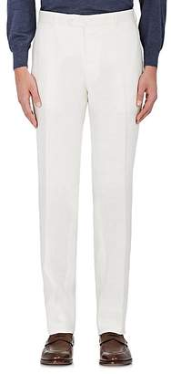 Isaia Men's Cortina Linen Trousers