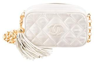 Chanel Satin Mini Camera Bag gold Satin Mini Camera Bag