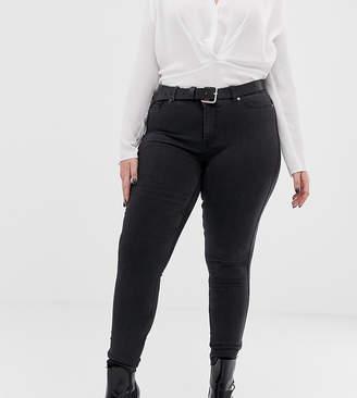 Junarose washed black Skinny Jeans
