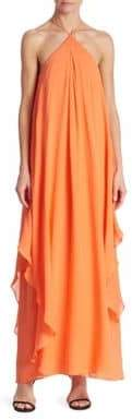 Trina Turk Ginger Silk Georgette Maxi Dress