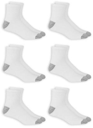 Athletic Works Men's Big & Tall Odor Resistant Ankle Socks 6 Pack