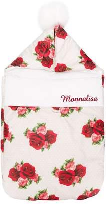MonnaLisa rose print baby nest