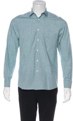Billy Reid Checkered Casual Shirt