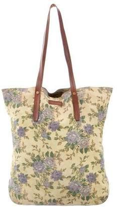 Rag & Bone Suede Floral Tote Bag
