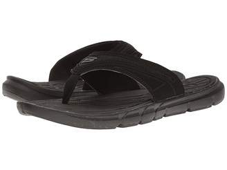 Skechers Thong Sandal w/ Mesh Men's Sandals