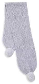 UGG Girl's Pom-Pom Knit Scarf