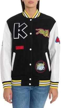 Kenzo Embroidered Varsity Jacket