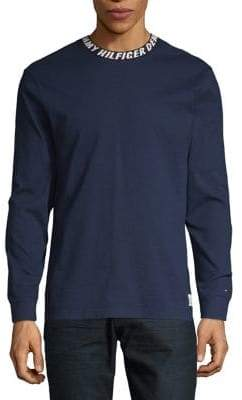 Tommy Hilfiger Ribbed Long-Sleeve Tee