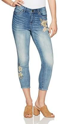 Bandolino Women's Petite Lisbeth Curvy Skinny Crop Jean