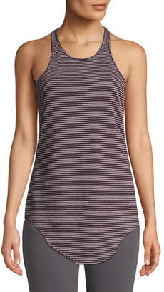 Frank And Eileen Base Layer Striped Scoop-Neck Tank