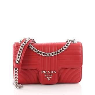 Prada Diagramme leather handbag