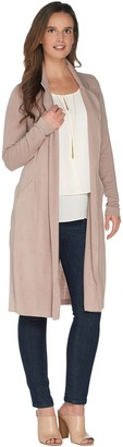 Lisa Rinna Collection Belted Notch Collar Jacket