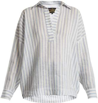 Vivienne Westwood Vault v-neck cotton shirt