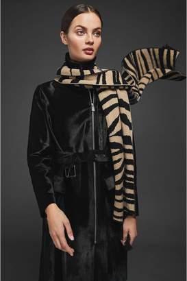 Anine Bing Little Lenny Scarf - Zebra