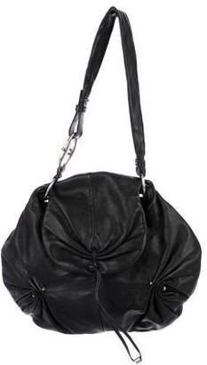 Saint Laurent Round Leather Hobo