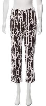 MICHAEL Michael Kors Mid-Rise Straight Pants