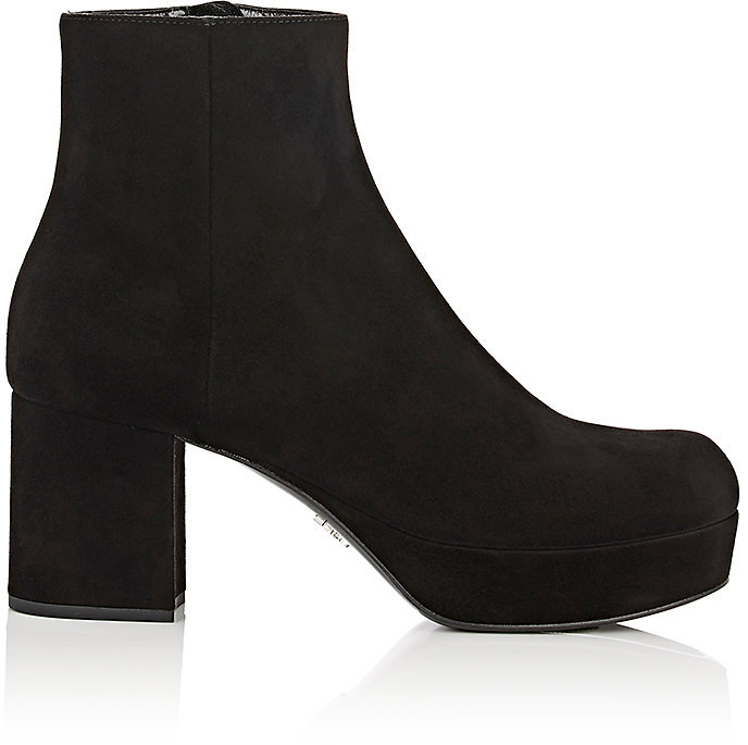 Prada Women's Platform Ankle Boots