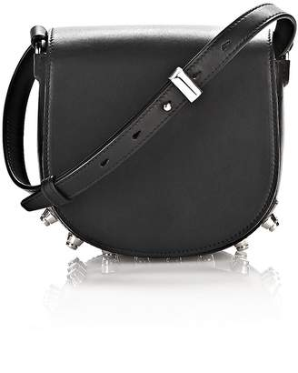 Alexander Wang Mini Lia In Black With Rhodium