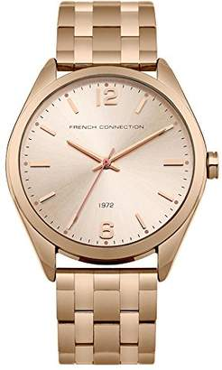 French Connection Women's Quartz Metal and Stainless Steel Casual Watch, Color:-Toned (Model: FC1293RGM)