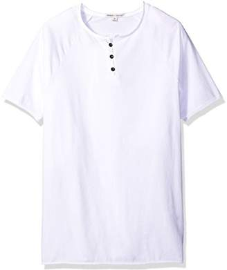 Threads 4 Thought Men's Sustainable Organic Cotton Short Sleeve Henley