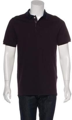 Burberry Adler Piqué Polo Shirt