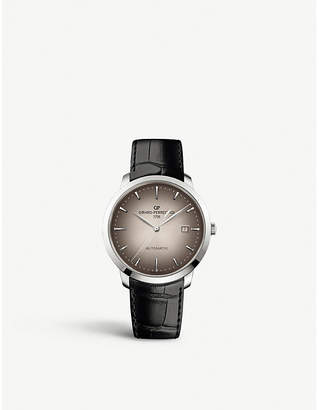 Girard Perregaux Girard-Perregaux 1966 stainless steel and leather watch