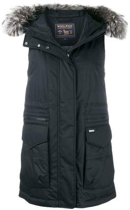 Woolrich hooded vest