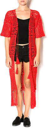 Muche et Muchette Crochet Tie Topper
