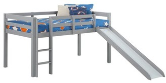 Angel Line Andrew Junior Loft Bed with Slide, Multiple Colors