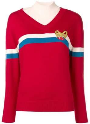 Vivetta embellished bow jumper