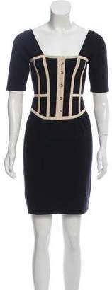 Temperley London Silk Knit Dress