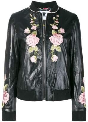 Blumarine embroidered floral jacket