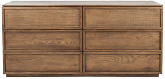 Safavieh Zeus 6 Drawer Wood Dresser