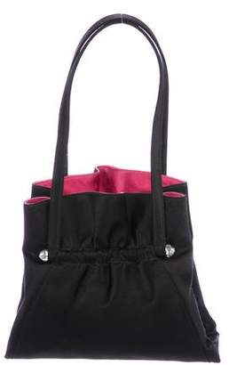 Judith Leiber Satin Handle Bag