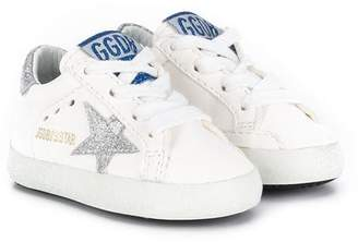 Golden Goose Kids logo sneakers