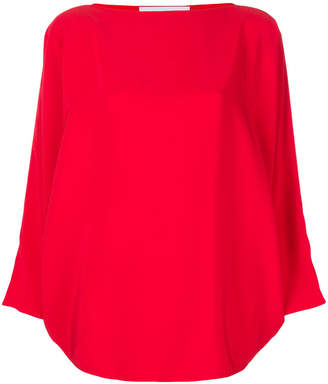 Gianluca Capannolo slash neck blouse